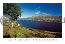 Fort William, Ben Nevis Postcard (H A6 LY)