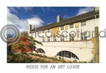 House for an Art Lover Postcard (H A6 LY)