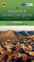 Walkers Map 28 Aviemore and Central Cairngorms