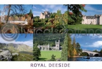 Royal Deeside Composite 1 Postcard (H A6 LY)