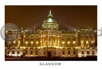 Glasgow Mitchell Library at Night (HA6)