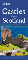 Castles Map of Scotland (Feb)