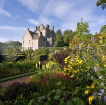 Crathes Castle Gardens Colour Photo Greetings Card (LY)