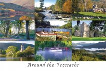 Around the Trossachs Postcard (H A6 LY)