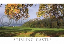 Stirling Castle in Autumn Postcard (HA6)