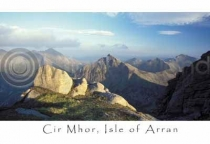 Cir Mhor, Arran Postcard (HA6)
