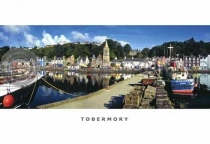 Tobermory from the Pier Postcard (HA6)