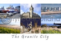 Granite City Composite Postcard (H A6 LY)