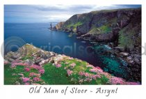 Old Man of Stoer - Assynt Postcard (H A6 LY)