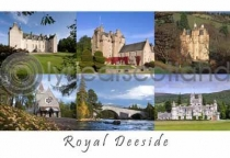 Royal Deeside Composite 2 Postcard (H A6 LY)