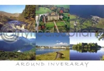 Around Inveraray Postcard (H A6 LY)