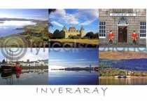 Inveraray Composite Postcard (H A6 LY)