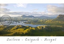Suilven - Assynt - Coigach Postcard (H A6 LY)