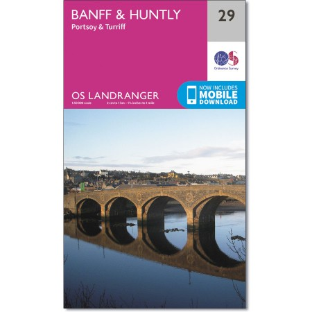 Landranger 29 Banff & Huntly