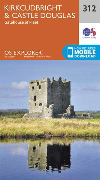 Explorer Map 312 Kirkcudbright & Castle Douglas