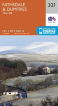 Explorer Map 321 Nithsdale & Dumfries