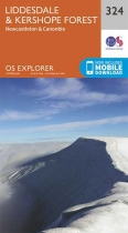 Explorer Map 324 Liddesdale & Kershope Forest