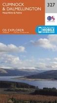 Explorer Map 327 Cumnock & Dalmellington