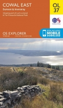 Explorer OL Map 37 Cowal East Dunoon & Inveraray