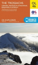 Explorer OL Map 46 The Trossachs