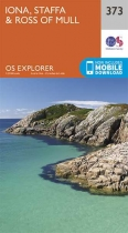 Explorer Map 373 Iona, Staffa & Ross of Mull