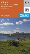Explorer Map 376 Oban & North Lorn