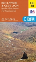Explorer OL Map 48 Ben Lawers & Glen Lyon