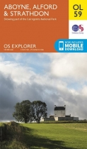 Explorer OL Map 59 Aboyne, Alford & Strathdon