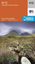 Explorer Map 410 Skye - Portree & Bracadale