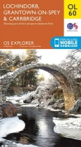Explorer OL Map 60 Lochindorb,G'town-on-Spey & C'bridge
