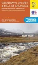 Explorer OL Map 61 Grantown-on-Spey & Hills of Cromdale