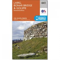 Explorer 441 Lairg, Bonar Bridge & Golspie
