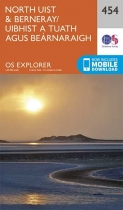 Explorer Map 454 North Uist & Berneray