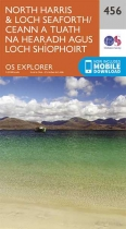 Explorer Map 456 North Harris & Loch Seaforth
