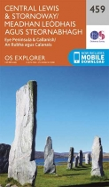Explorer Map 459 Central Lewis & Stornoway