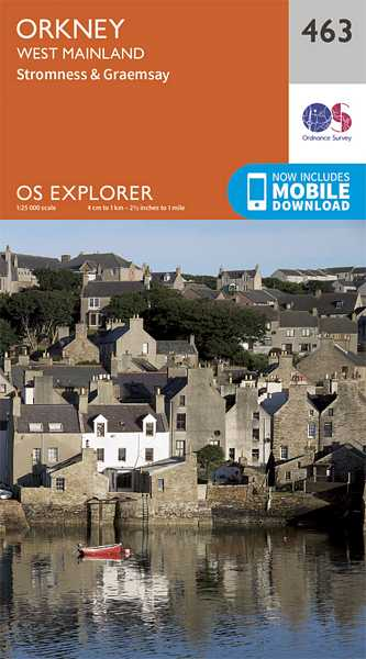 Explorer Map 463 Orkney - West Mainland