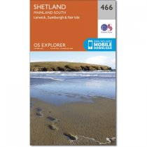 Explorer 466 Shetland - Mainland South