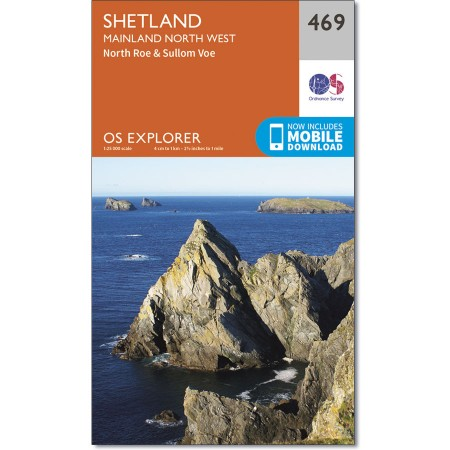 Explorer 469 Shetland - Mainland North West