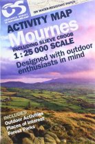 Activity Map Mournes including Slieve Croob