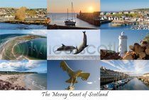 Moray Coast Composite Postcard (H A6 LY)