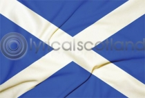 Saltire Flag Postcard (H A6 LY)
