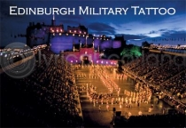 Edinburgh Military Tattoo Magnet (H)