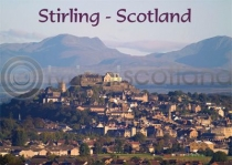 Stirling - Scotland Magnet (H LY)