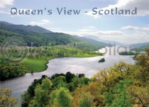 Scotland - Queen's View Loch Tummel Magnet (H LY)