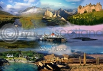 Isle of Arran Fusion Postcard (HA6)