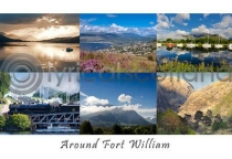 Around Fort William Composite Postcard (HA6)