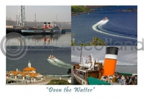 Doon the Watter PS Waverley Postcard (HA6)