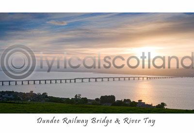 Dundee Railway Bridge & River Tay (HA6)
