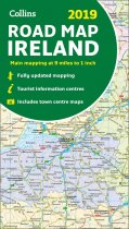 2019 Collins Ireland Road Map