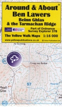 A&A Map Ben Lawers, Beinn Ghlas & the Tarmachan Ridge